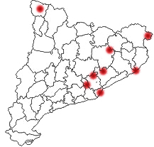 catalonia clickable map