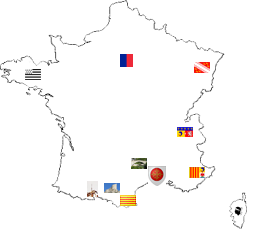 france clickable map