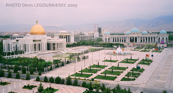Ashgabat Independence Square
