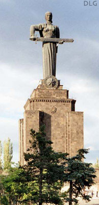 statue of motherland yerevan