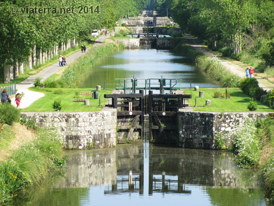 canal ile rance 11 ecluses