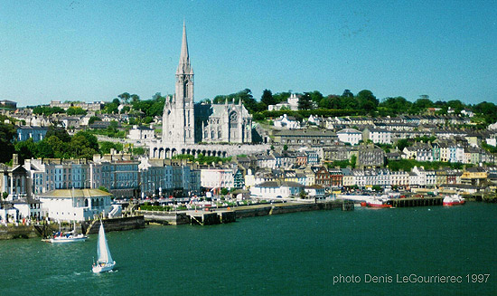 cobh from the ferry
