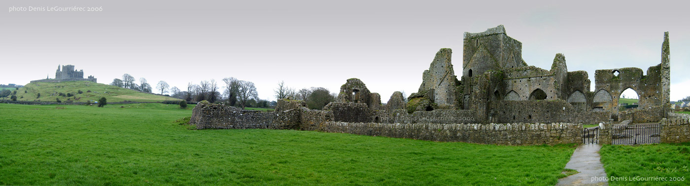 Hore Abbey panorama
