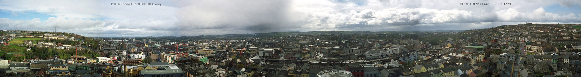 cork panorama shandon church
