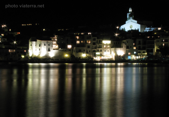 cadaques by night